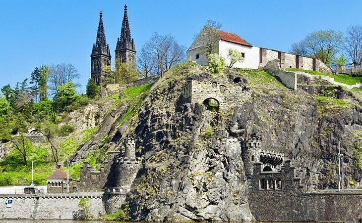 The Hilltop Fortress Vyšehrad